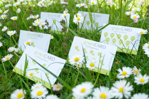 Green Shiatsu Green Cards