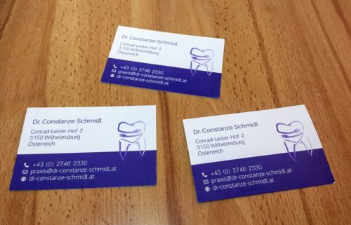 Dr. Constanze Schmidl (Logo und Visitenkarten)